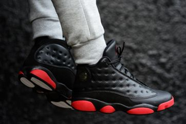 "Air Jordan 13 ""Black/Gym Red"" 实拍图赏"