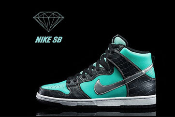 #X-View#奢侈诱惑--DJ Skee鞋评Diamond Supply Co. x Nike SB Dunk