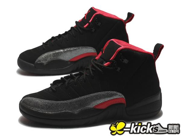 AIR JORDAN 12 RETRO (GS) 黑粉 女款