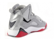 Air Jordan True Flight AJ7 加强 银灰红 女 GS