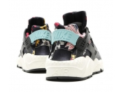 Nike Air Huarache Run Print 华莱士 黑清仓特价