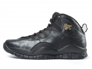 Air Jordan 10 NYC Black 纽约 限量 特价