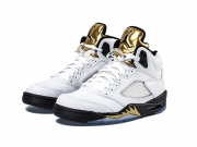 Nike Air Jordan 5 Gold Medal 奥运金牌 特价