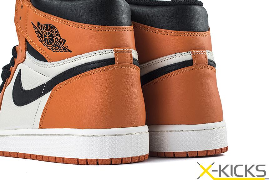 Air Jordan 1 Backboard AJ1 反转白扣碎篮板