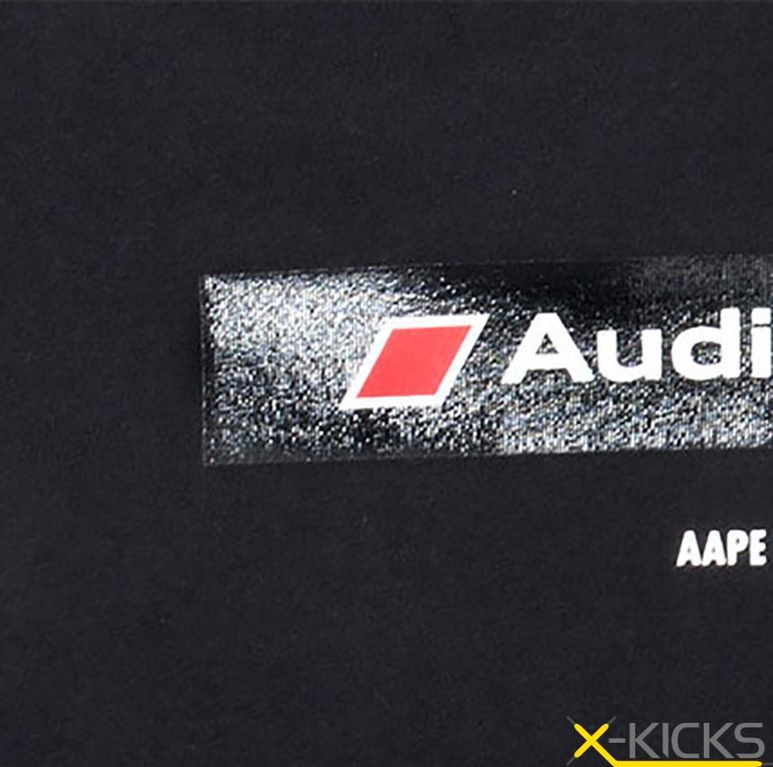 AAPE X AUDI R8 LMS Cup 2016冬 短袖 Tee