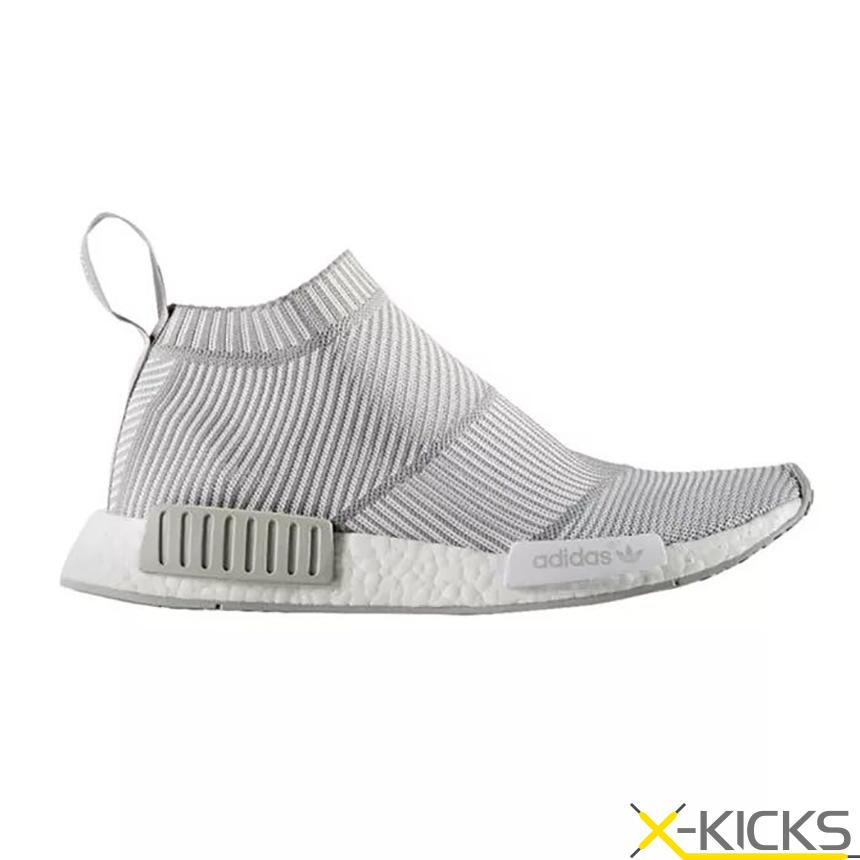 Adidas NMD City Sock PK NMD 高帮 编制 酷灰 特价