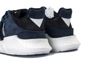 White Mountaineering x adidas EQT boost 黑蓝 白山联名限量