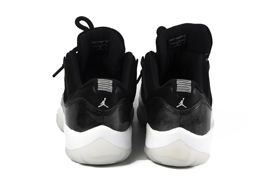 现货已到 AIR JORDAN 11 low Barons AJ11大魔王低帮 伯爵