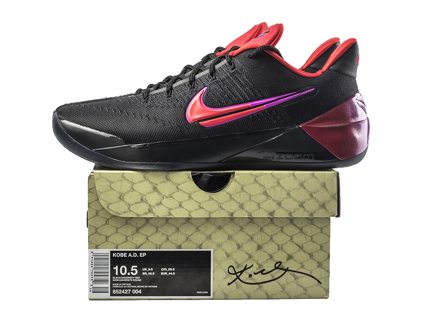 NIKE KOBE AD FLIP THE SWITCH 科比12 黑红 断钩 特价