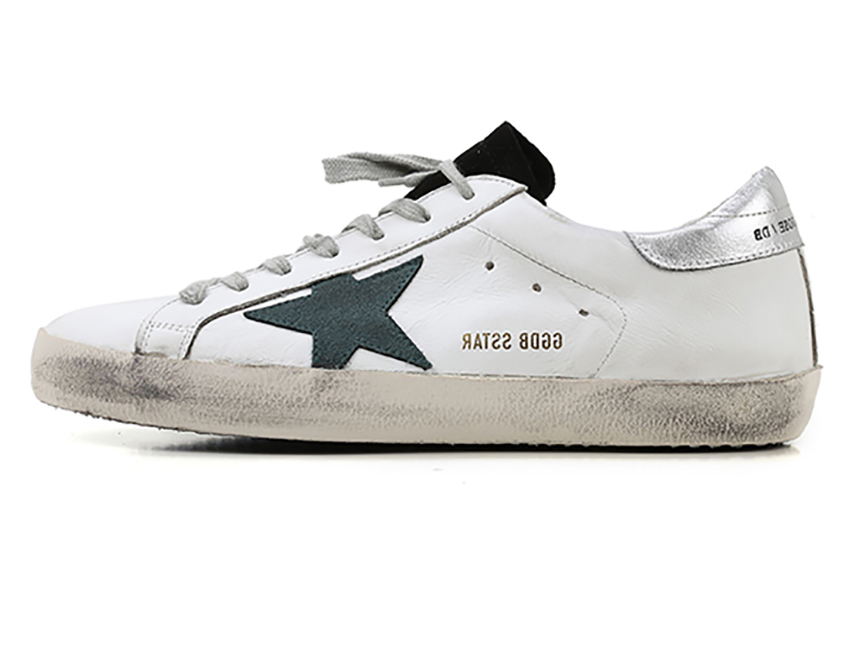 Golden Goose GGDB 绿星白银尾