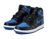 Air Jordan 1 OG Royal AJ1 乔1黑蓝