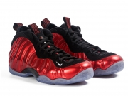 NIKE foamposite one 黑红血喷