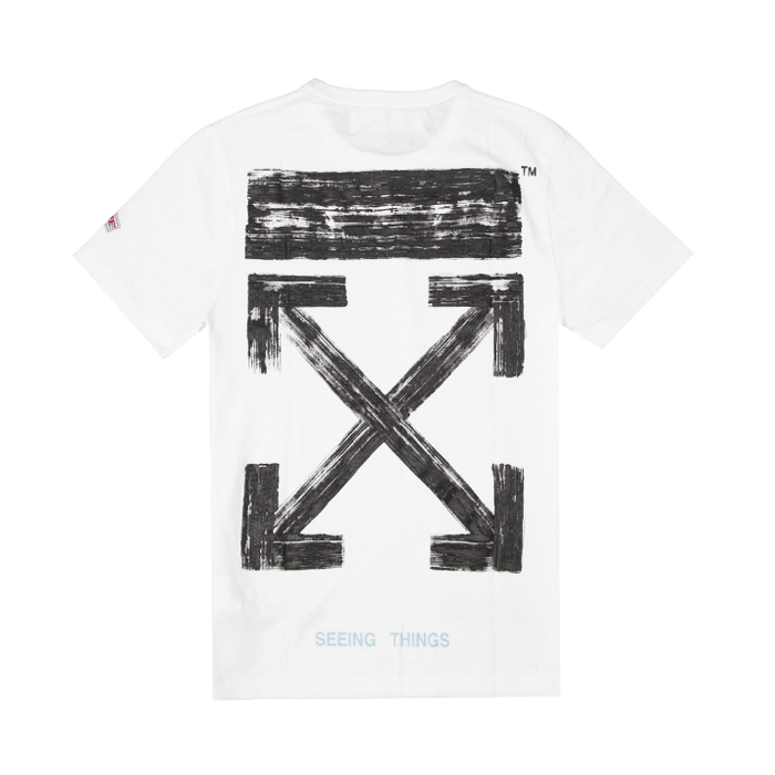 OFF-WHITE c/o VIRGIL ABLOH 白色箭头T恤