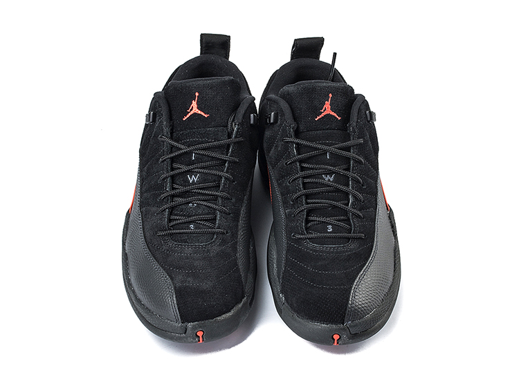 Air Jordan 12 Max Orange AJ12 黑橙 特价