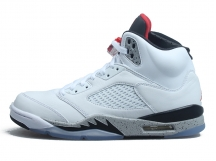 "AIR JORDAN 5 ""White Cement"" 白水泥 特价"