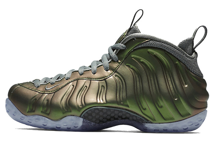 Nike Foamposite One WMNS Shine 炫光绿喷 特价