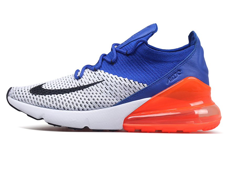 Nike Air Max 270 Flyknit  蓝橙