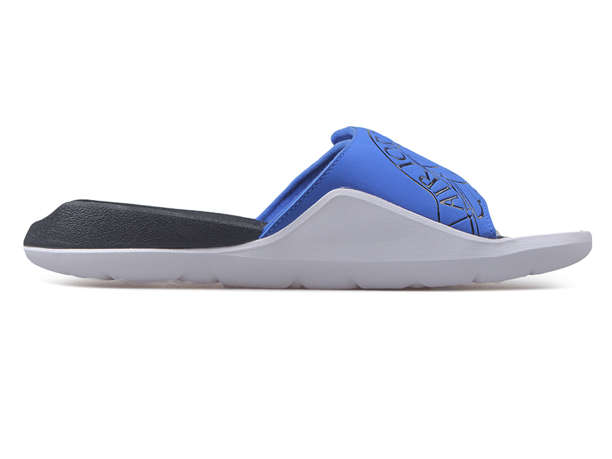 Air Jordan Hydro 7 Slide 拖鞋 白蓝特价