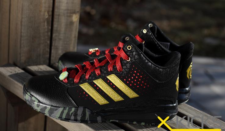 阿迪达斯2015新款男鞋 罗斯运动篮球鞋