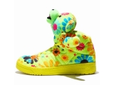 OBYO JEREMY SCOTT BEAR FLOWER POWER 花朵泰迪熊 彩搭限量 情侣款 特价