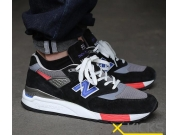 美产 New Balance M998HL Catch 22 Collection 黑蓝红特价