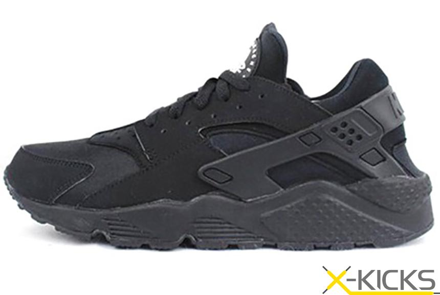 Nike Huarache Triple Black GS 女款黑武士清仓特价