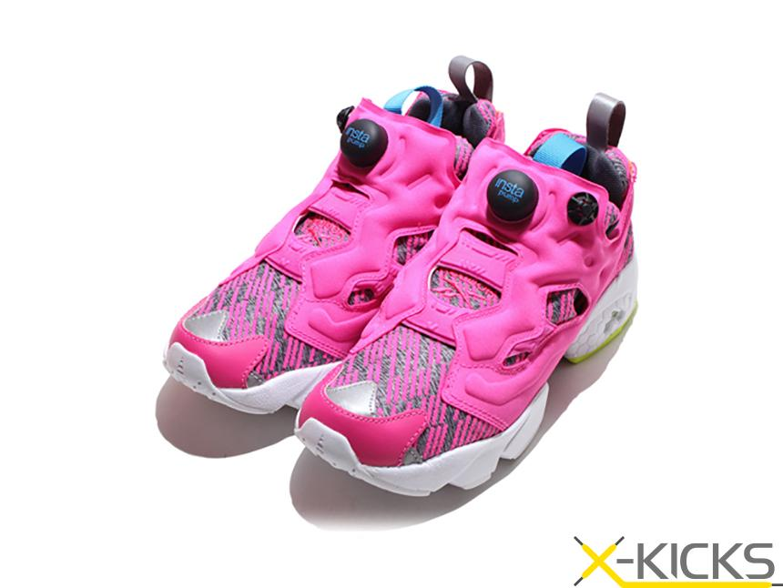 Reebok Insta Pump Fury Celebrate 彩色素描拼接  特价