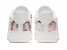 Nike Air Force 1 AF1白灰花卉女子低帮空军一号板鞋